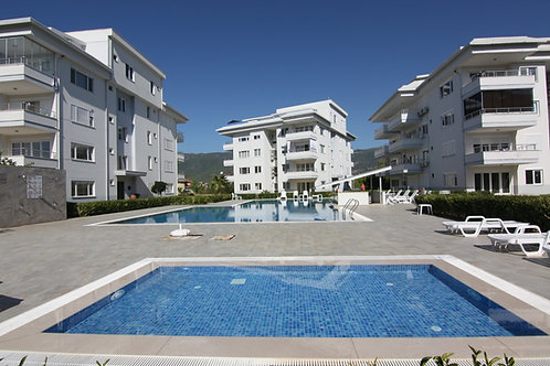 Apartment with Pool, Garden and Mountainview in Oba, Alanya