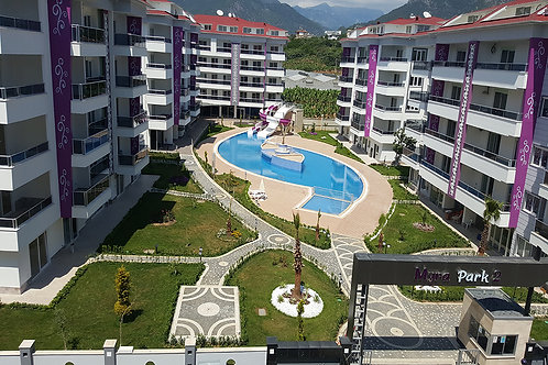 MYRA Apartment with Pool, Garden and Seaview in Kestel, Alanya