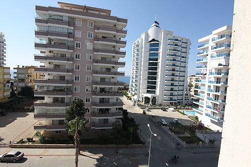 REMA Apartment with Pool, Garden and Seaview in Mahmutlar, Alanya