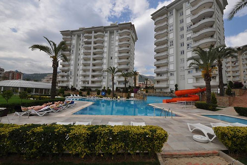 2+1 Apartment with all Activities in Cikcilli, Alanya