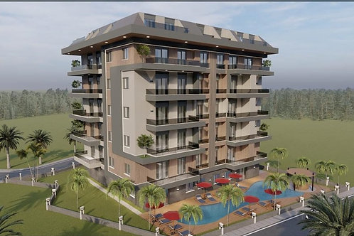 Apartments with all Activities in Cikcilli, Alanya