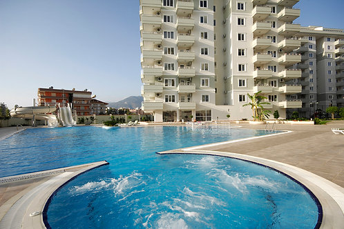 2+1 Apartments with seaview and all activities in Tosmur, Alanya
