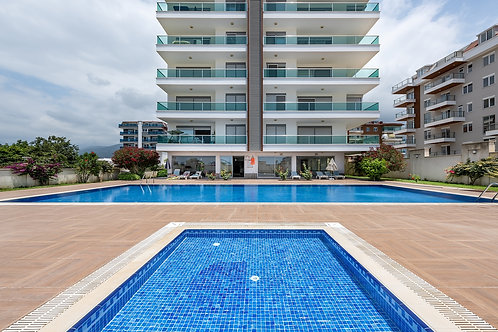 3+1 Dublex with seaview and all Activities in Kestel, Alanya