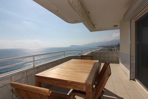 3+1 Penthouse with FULL seaview and all Activities in Mahmutlar, Alanya