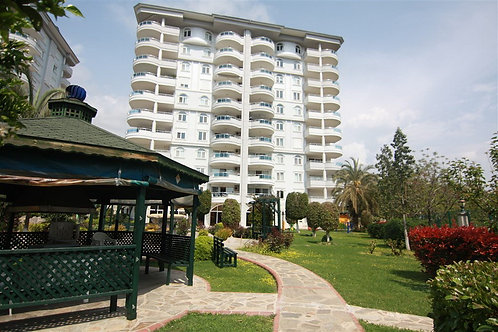 Panorama Apartment with Pool and Garden in Cikcilli, Alanya