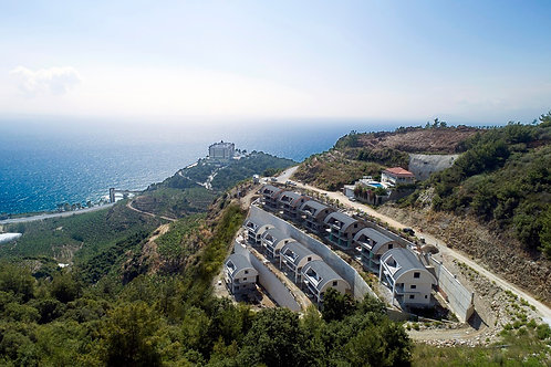 NEW Villa Project with private Pool and seaview in Kargicak, Alanya