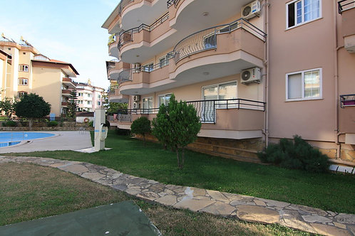Oba Apartment with Pool and Garden in Oba, Alanya