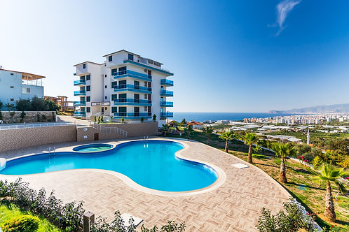 Apartments with seaview and all Activities in Kargicak, Alanya