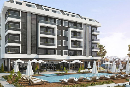 Luxury Apartments with all Activities in Oba, Alanya