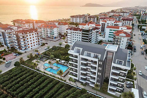 1+1 Apartments with seaview all Activities in Kestel, Alanya
