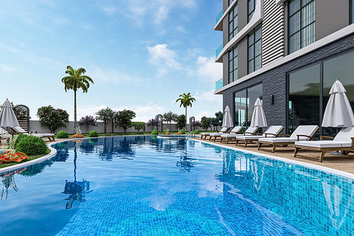 Apartments with seaview and all Activities in Mahmutlar, Alanya
