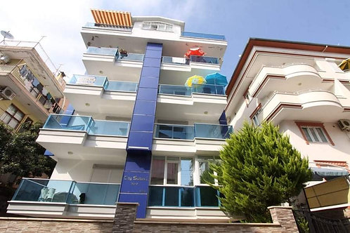 1+1 Apartment with pool in City Center of Alanya