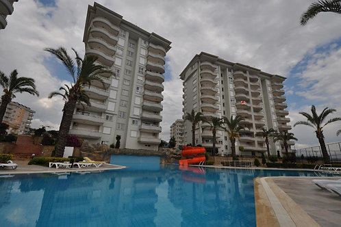GALAXY III Apt with Pool, Garden and Seaview in Cikcilli, Alanya