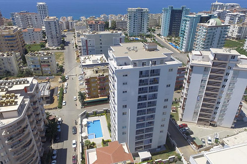 2+1 & 4+1 Apartments with Seaview and Pool in Mahmutlar, Alanya