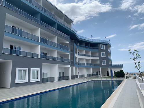 1+1 and 2+1 Apartments with Pool, garden and seaview in Mahmutlar, Alanya