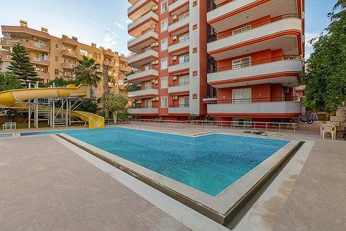 2+1 Apartment with Seaview, Pool and garden in Mahmutlar, Alanya