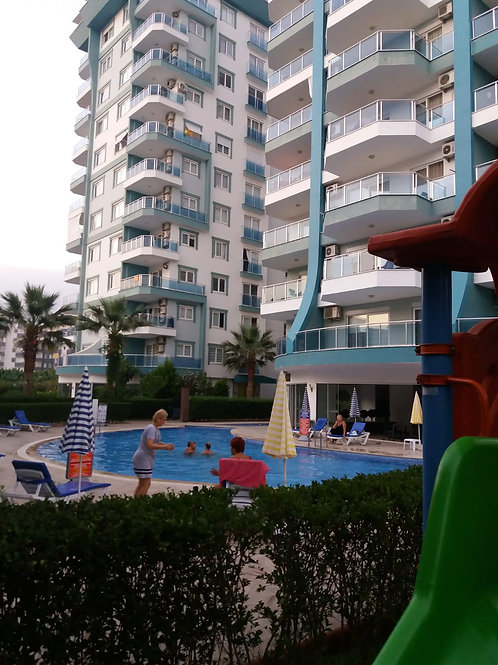 3+1 Apartment with all Activities in Mahmutlar, Alanya