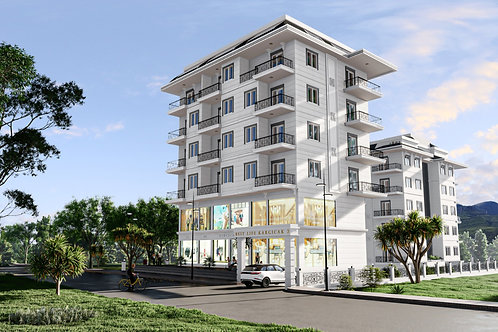 Apartments with all Activities in Kargicak, Alanya
