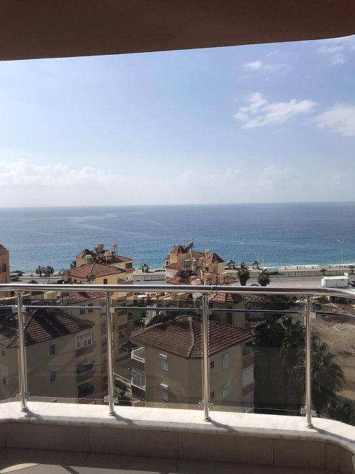 2+1 Apartment with Seaview and Pool in Mahmutlar, Alanya