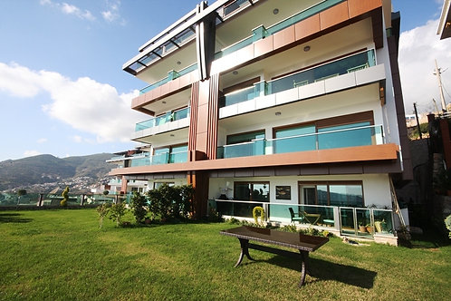 VIP DUPLEX with Pool, Garden and Seaview in Centre, Alanya