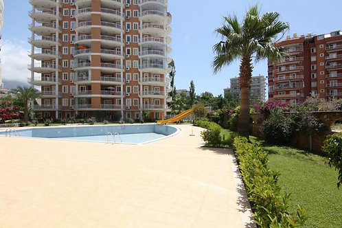 Apartments with Pool, Garden and Seaview in Tosmur, Alanya