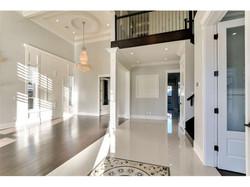 Hardwood floor entry