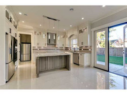 Custom kitchen design and flooring