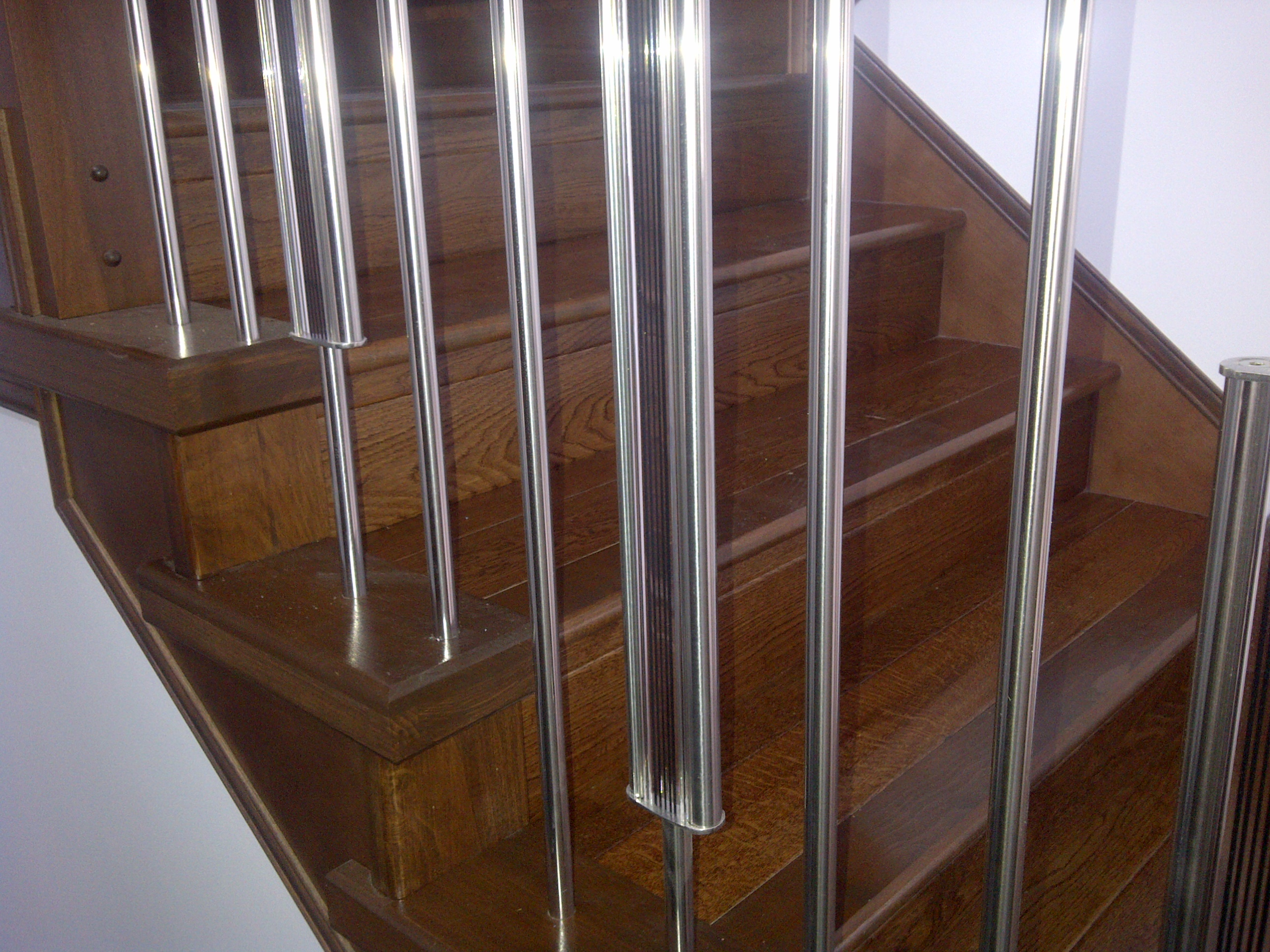 Std stairs and railing