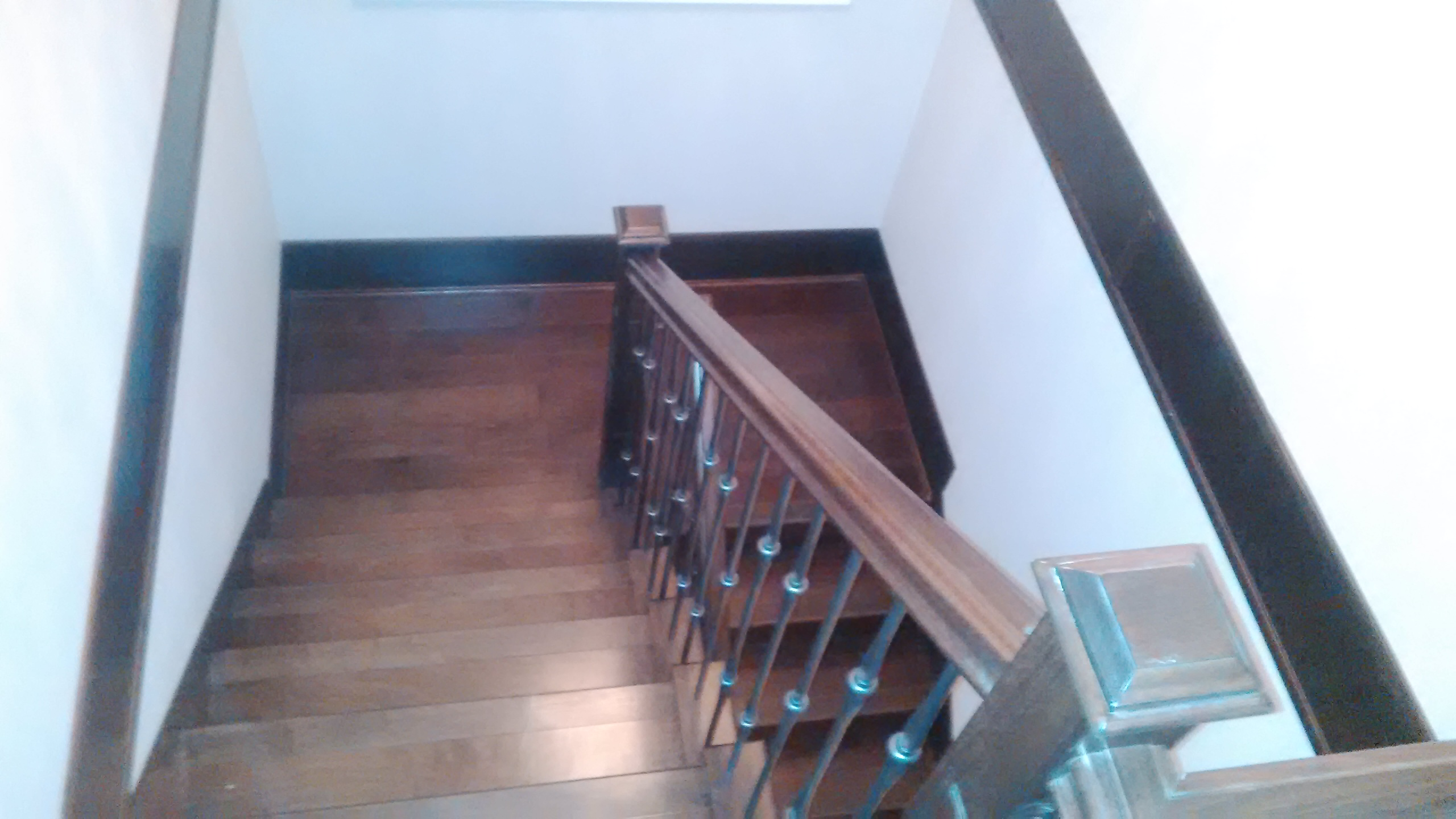 Fraserview house stairs
