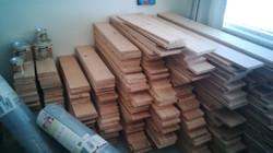 Reclaimed Douglas Fir T&G planks