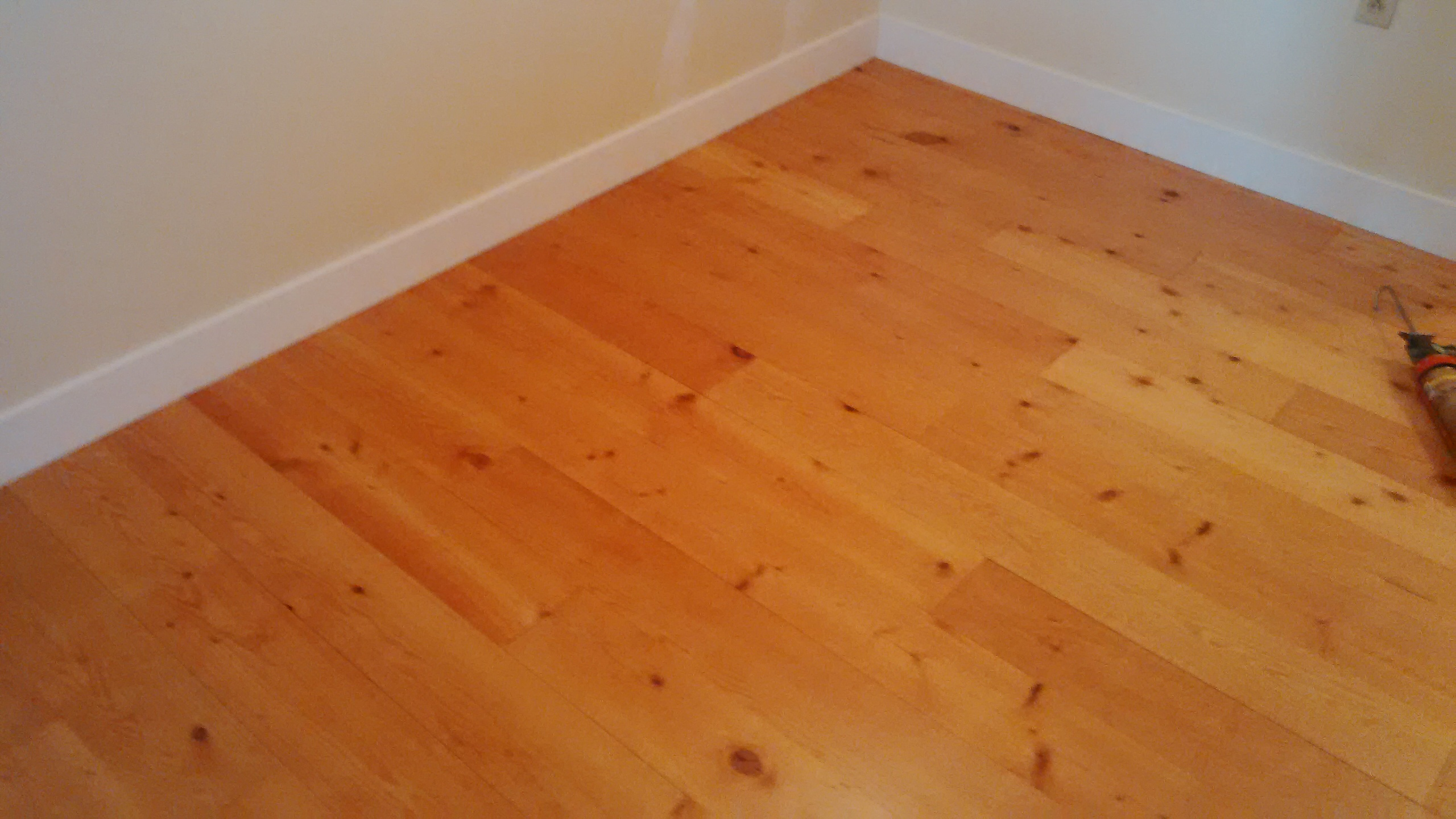 Finished Bedroom Floor