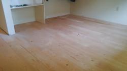 unfinshed floor view
