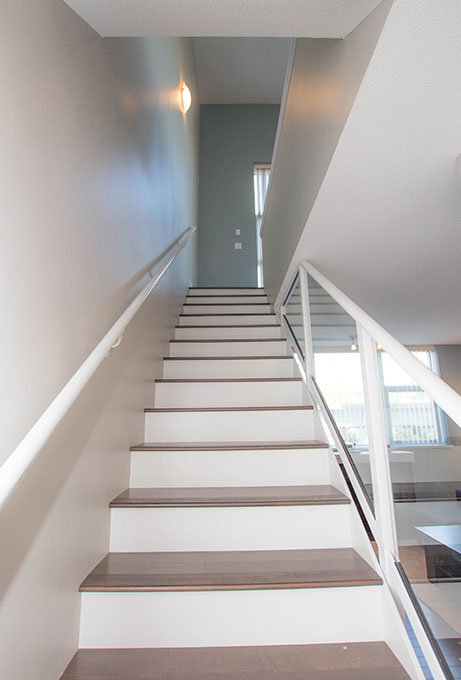 Straight Modern looking Staircase