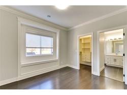 Sleek hardwood floors in bedroom #3