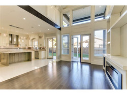 Family Room & Kitchen view