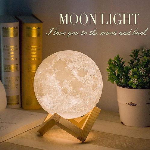 """Moon Baby"" Light  Lamp"