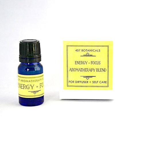 Energy + Focus Aromatherapy Lifestyle Blend