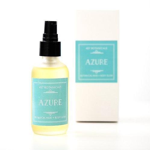 Azure Hair + Body Elixir