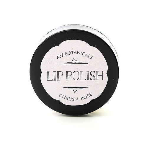 Citrus + Rose Lip Polish
