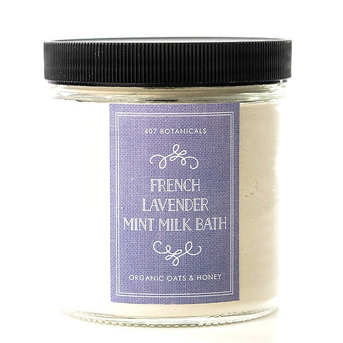 French Lavender + Mint Milk Bath Soak