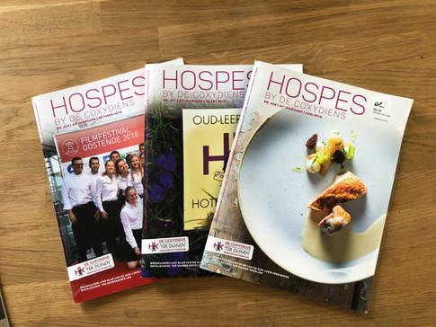 Hospes - magazine van de Coxydiens