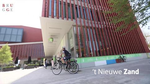 Video nieuwe fietspad Brugge
