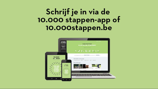 Campagne 10.000 stappen clash