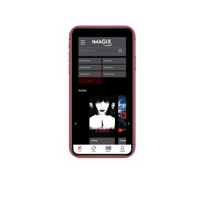 app en website Imagix