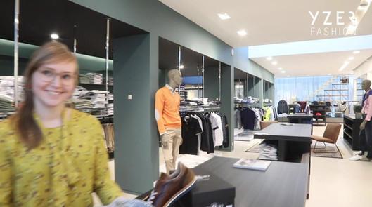 Video vernieuwde winkel
