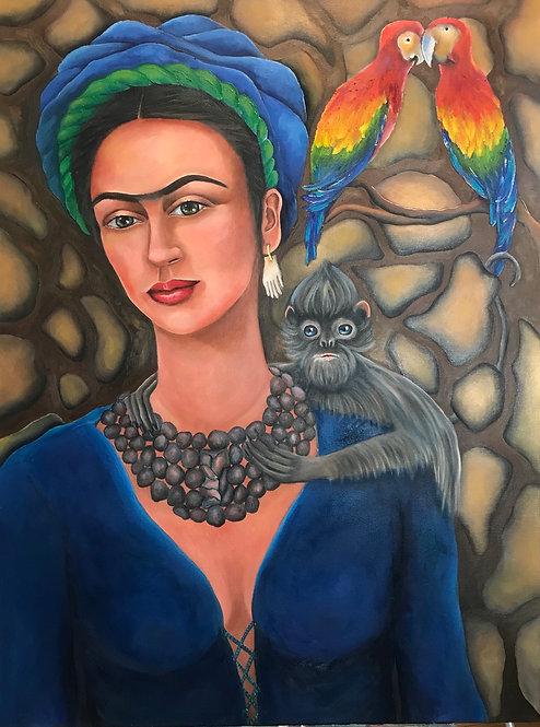 Frida Exotica 30x40
