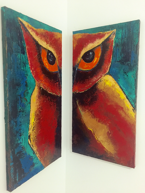 The Forest Owl-2 SOLD