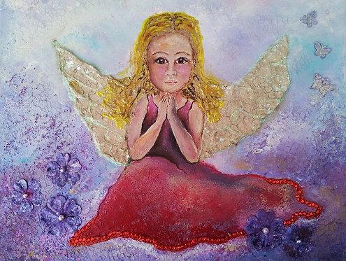 A little Prayer Angel - sold