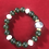 Thumbnail: Jade and agate stone bracelet #5