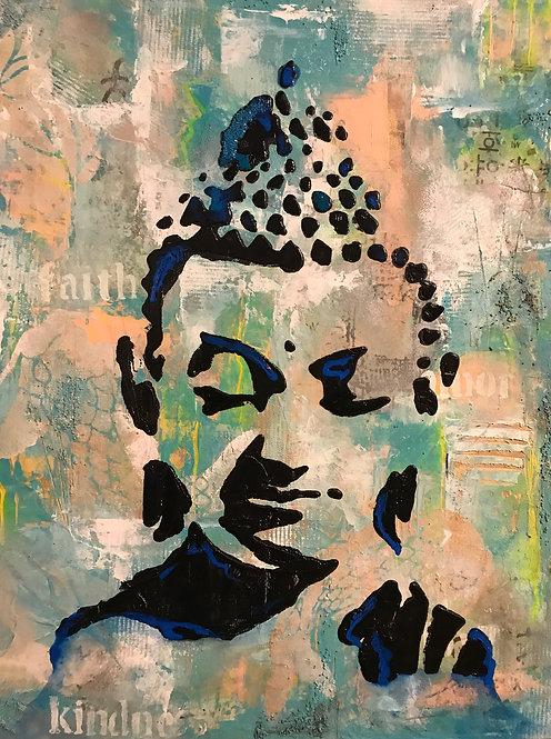 Buddha Mixed Media